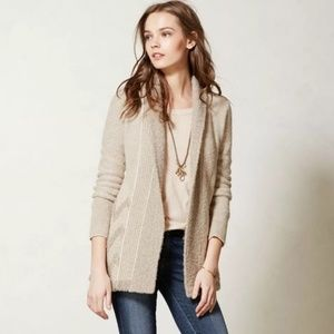 Anthropologie Angel of the North Equinox Cardigan